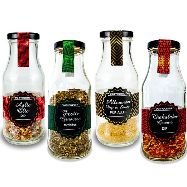 Gewürz Dip Set für Dips, Saucen und Pesto