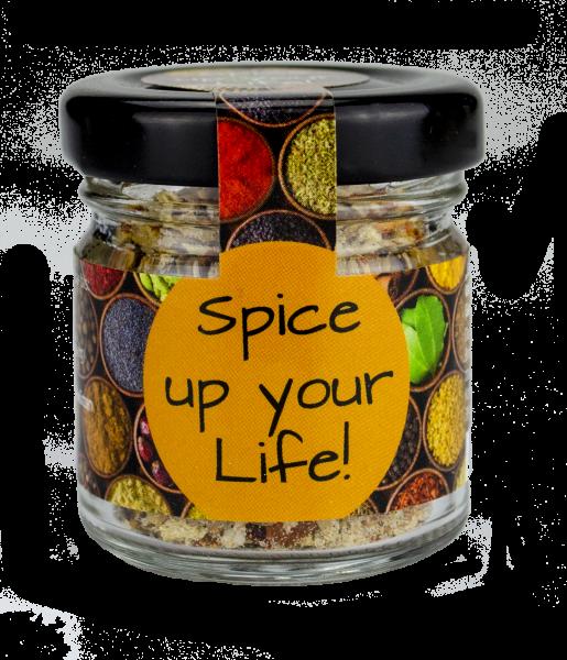 """""""Spice up your life!"""" Gewürzsalz Classic"""