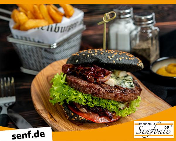 Kochevent Homemade Burger Kochschule Senfonie