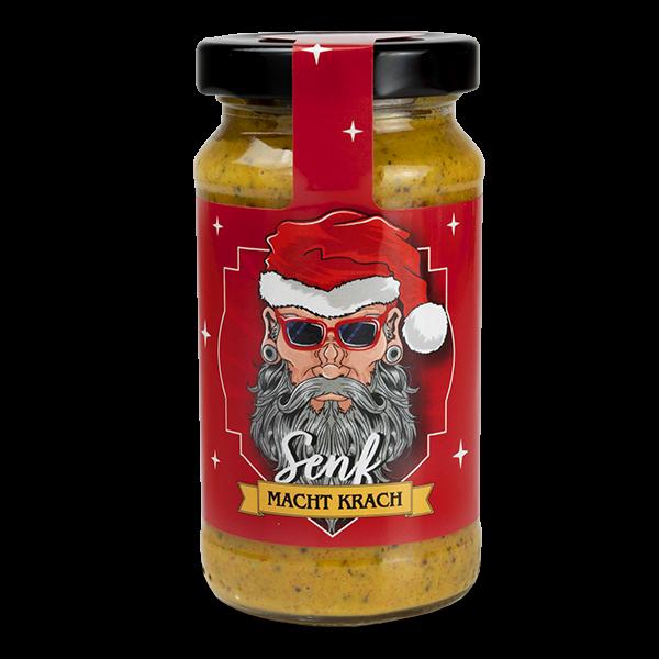 """Knackiger Weihnachtssenf """"Macht Krach"""""""