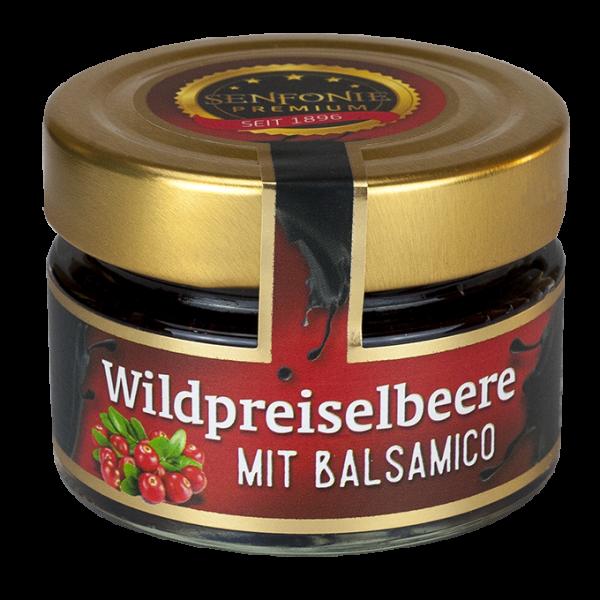 Wildpreiselbeer Chutney mit Balsamico