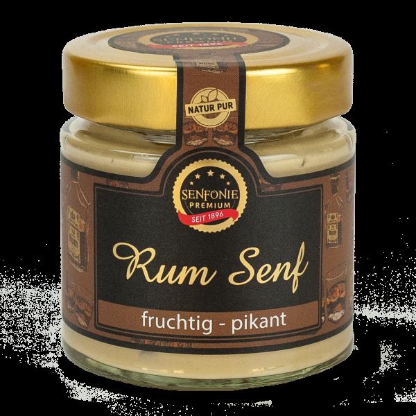 Premium Rum Senf mit 10% Rum