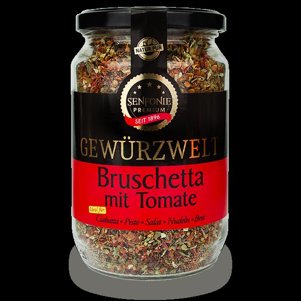 Bruschetta mit Tomate Premium XXL Glas