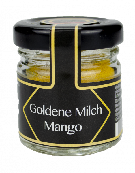 Mini Glas Goldene Milch Mango