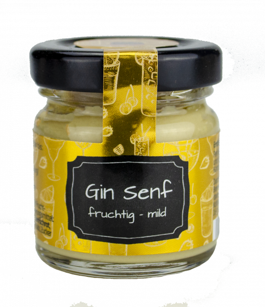 Gin Senf Mini Glas