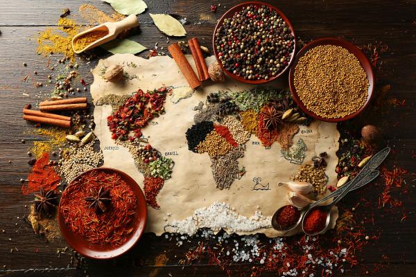 """Kochevent - """"Kulinarische Weltreise über 5 Kontinente"""""""
