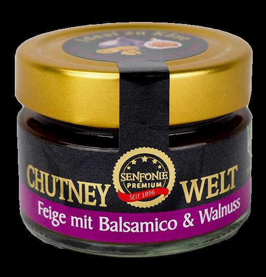Premium Feigen Chutney mit Balsamico & Walnuss
