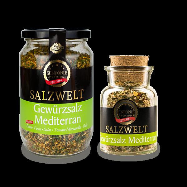 Premium Gewürzsalz Mediterran