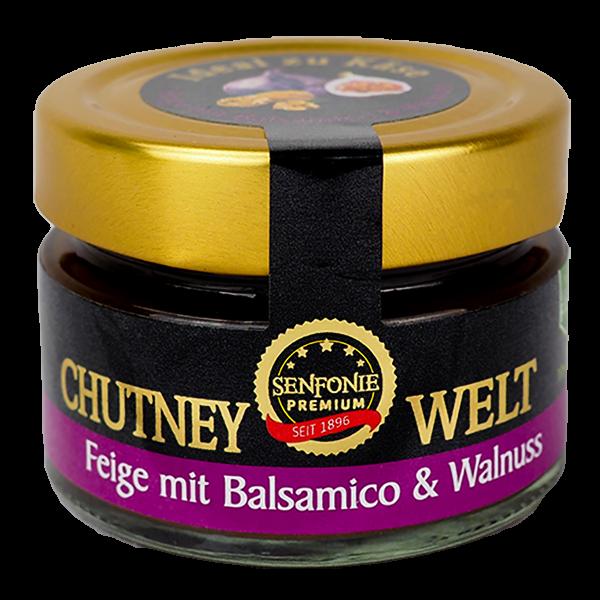 Feigen Chutney mit Balsamico & Walnuss Premium