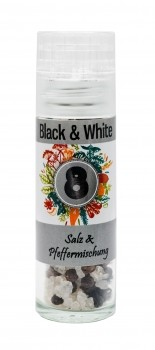 Mini Mühle Black & White Mischung
