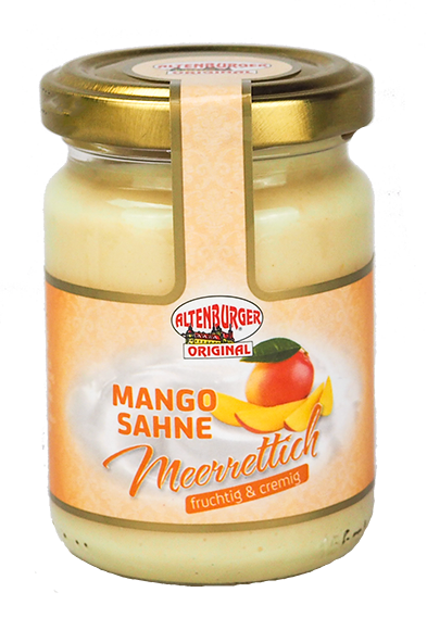 Mango Sahne Meerrettich