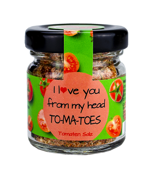 Tomatensalz Mini Glas