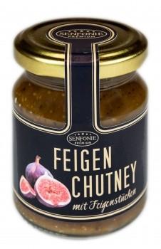 Feigen Chutney mit Feigenstücken