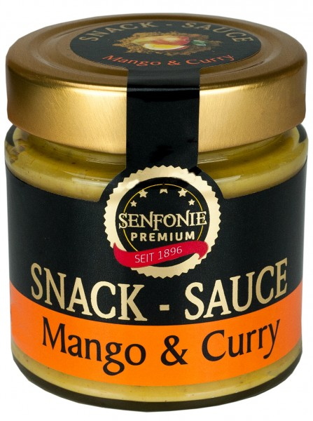 Snack Sauce Mango & Curry