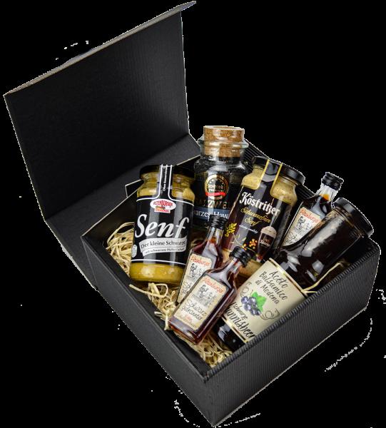 Black Box - Geschenkbox Senf- & Feinkost
