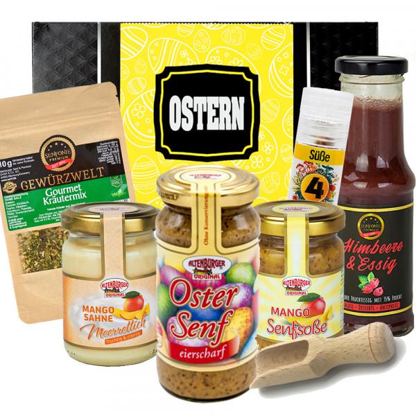 Geschenkbox Ostern mit Produkten