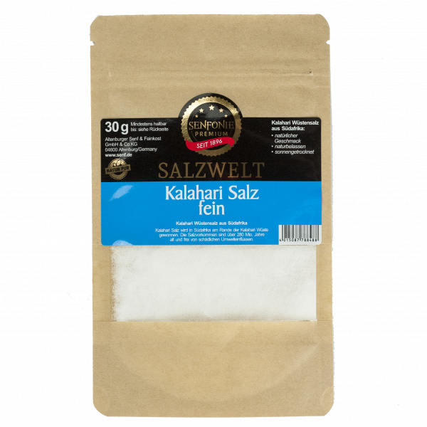 Gewürztüte Kalahari Salz