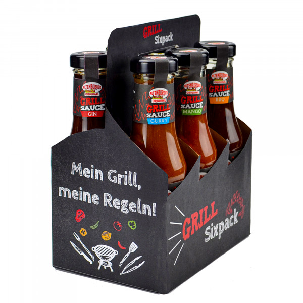 Grill Sixpack Vorderseite