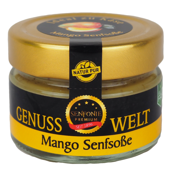 Premium Mango Senfsoße