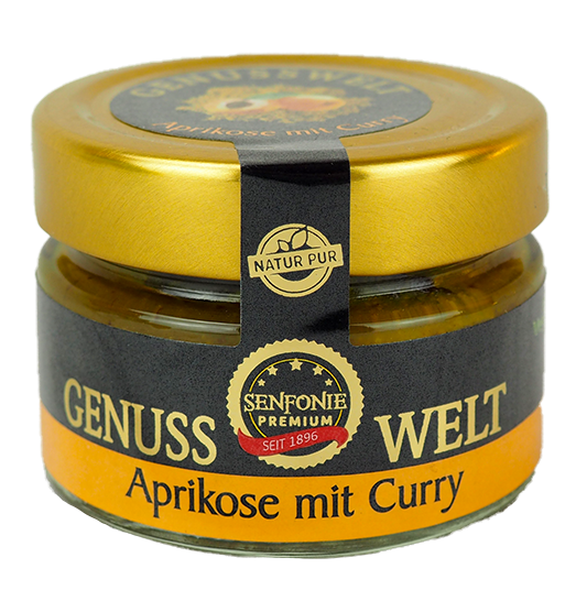 Premium Aprikose mit Curry