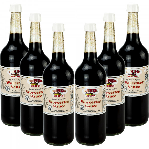 Worcester Sauce Original 6x 1000ml