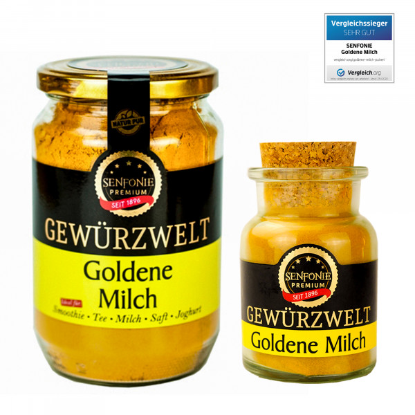 Premium Goldene Milch
