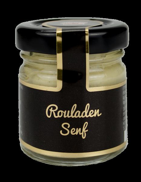 Mini Glas Rouladen Senf